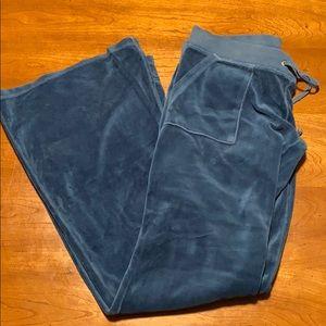 Juicy Couture vintage sweats- teal